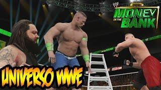 WWE 2K15 - Money in The Bank - John Cena en una Lucha de Reglas Extremas