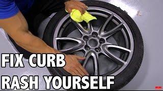 Fix Curb Rash Wheels at Home - Tutorial