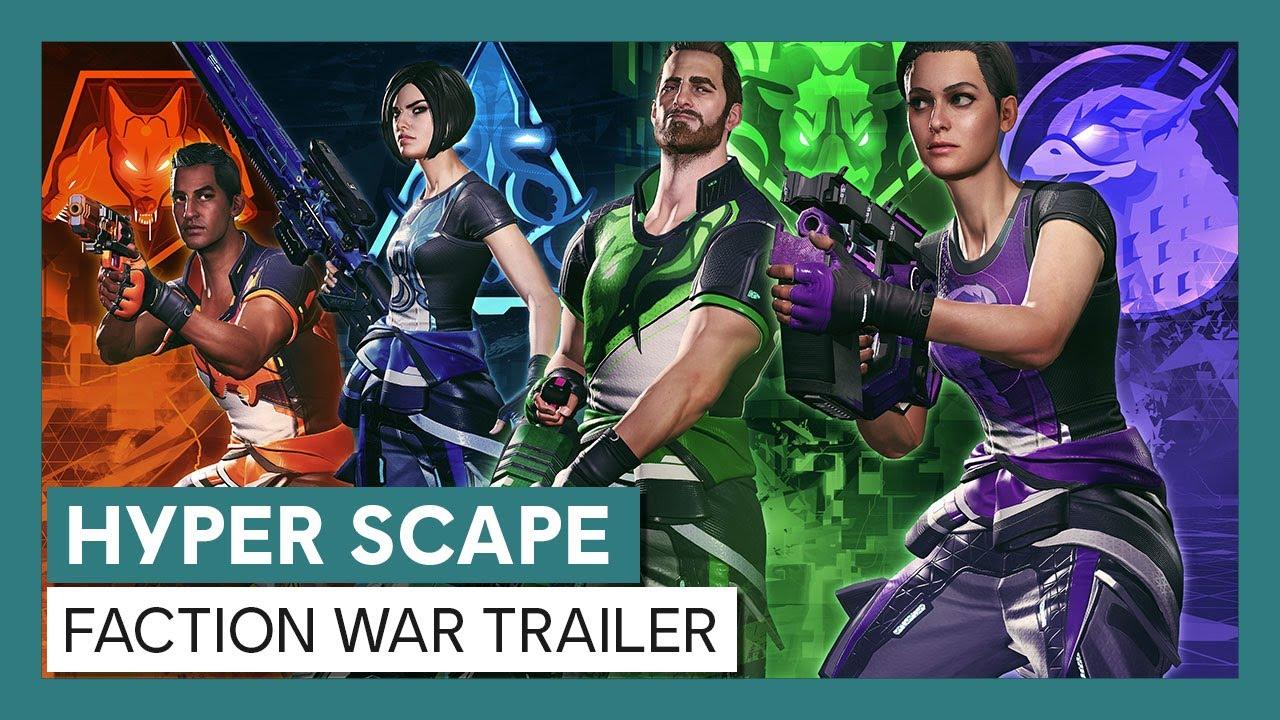 Hyper Scape: Faction War Trailer