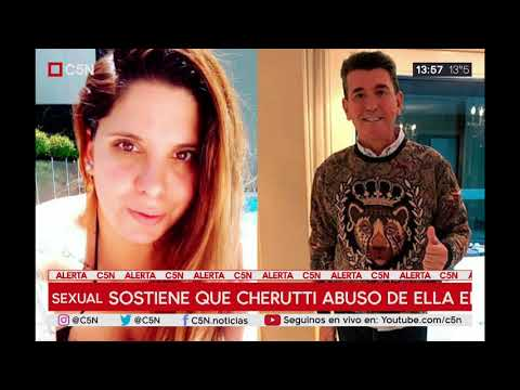 Cherutti se defendió y dio su versión tras la denuncia de abuso sexual