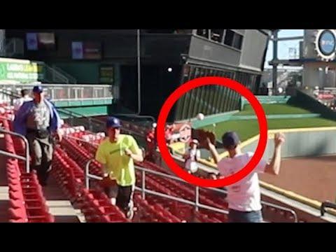Embarrassing blooper at Great American Ball Park