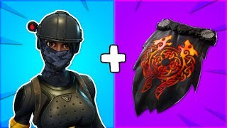 "10 BEST ""LAVA LEGENDS"" SKIN + BACKBLING COMBOS in Fortnite! (awesome pack)"