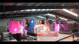 Event Stage Indoor Outdoor Led Large Screen Display,Die Casting Aluminum Cabinet Stage Events Led Ou