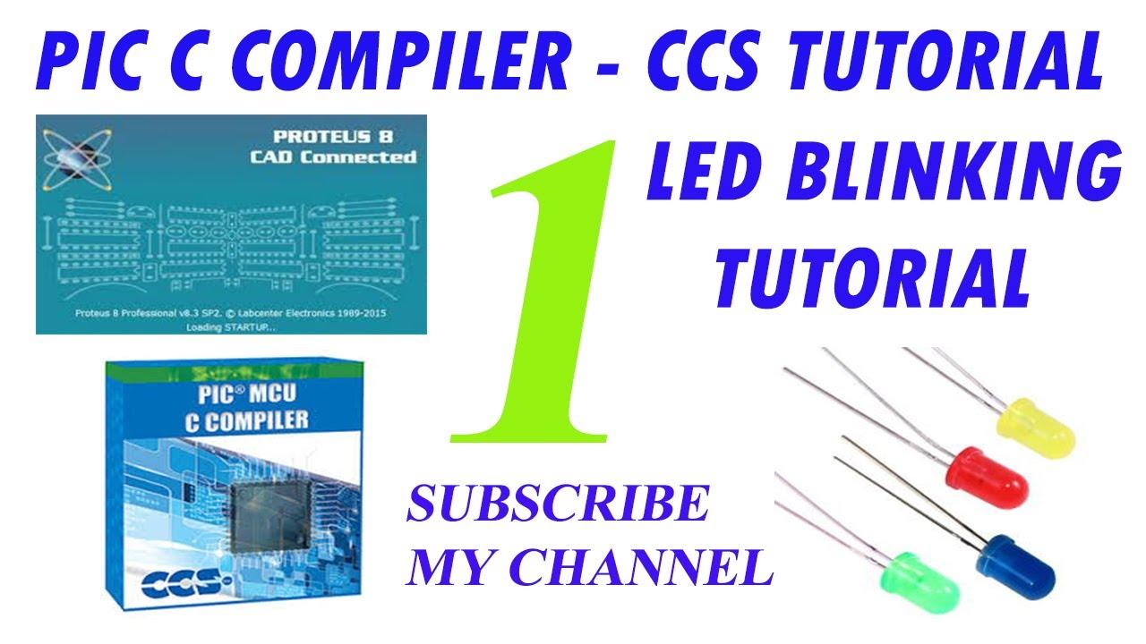 Embedded C Tutorial LED Blinking Part 1 in Hindi/Urdu