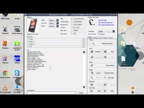 How to Unlock Samsung GT-S5230 with Z3X-Box by  ::StarCodes