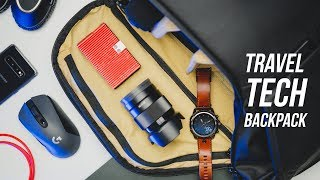 What's In My Bag - Travel Tech Backpack!