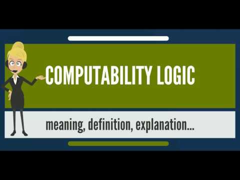 What is COMPUTABILITY LOGIC? What does COMPUTABILITY LOGIC mean? COMPUTABILITY LOGIC meaning
