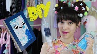 DIY I Liquid Notebook - Back to school