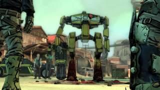 Loader bot meets Steve (Borderlands)