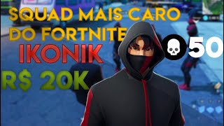 IKONIK SQUAD (20000 REAIS IN SKIN)-Fortnite