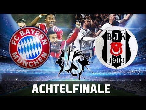 FC BAYERN vs BESIKTAS ISTANBUL 5:0 | Champions League Orakel Achtelfinale