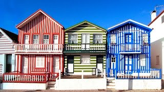 Costa Nova, una zona marinera de cuento