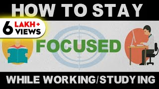 Download HOW TO CONCENTRATE ON STUDIES or WORK (HINDI) - DEEP WORK PRINCIPLE