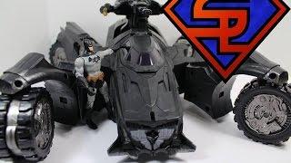 Batman Arkham Knight DC Comics Multiverse Batmobile SDCC 2014 Exclusive Vehicle Toy Review