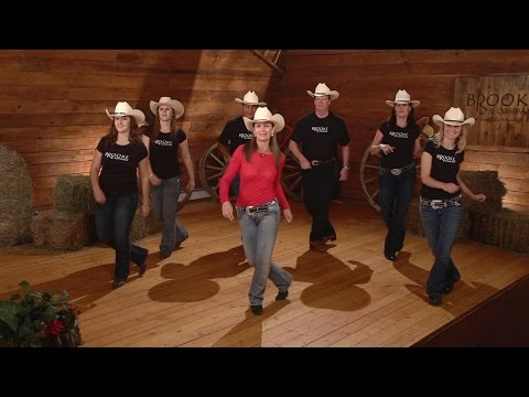 Cowboy Cha Cha - Line Dance Instruction