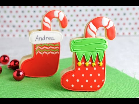 Christmas Stockings Cookies Haniela S
