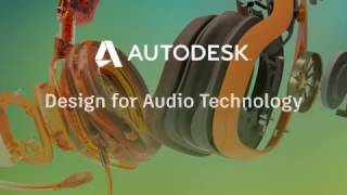 Autodesk - Design for Audio Technology - Early Bird Winners