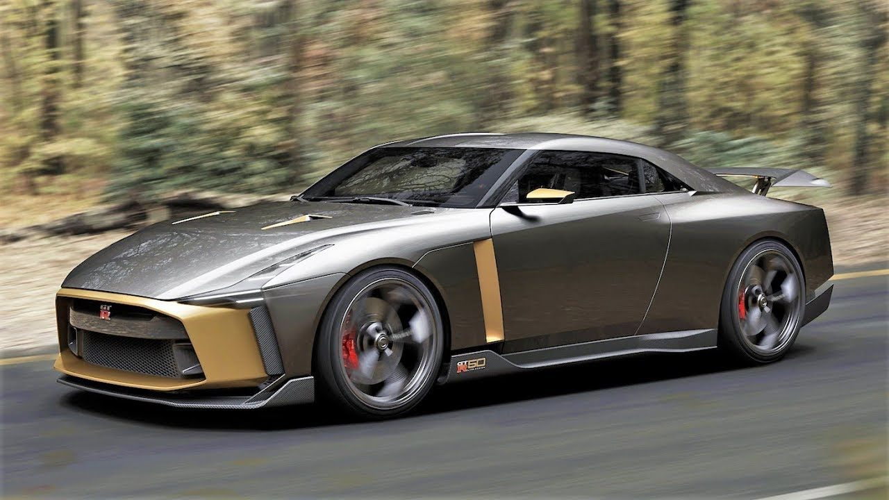 NEW NISSAN GT-R 50, Is the Next Nissan GT-R ?? - YouTube