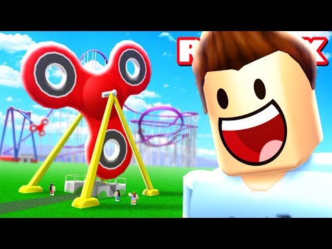 Thumbnail: FIDGET SPINNER WORLD IN ROBLOX