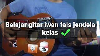 belajar gitar - kunci gitar ( lagu iwan fals jendela kelas )
