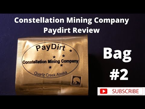 Constellation Mining PayDirt Review Bag #2