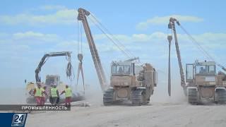 В Казахстане отстроили половину газопровода «Сарыарка»   Промышленность