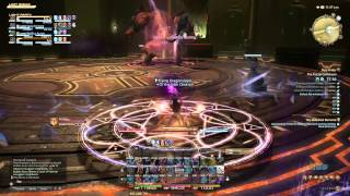 Final Fantasy XIV Heavensward Black mage Gameplay