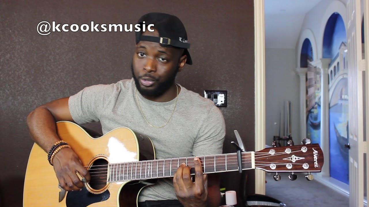 Kanye West Ghost Town Acoustic Guitar Tutorial Youtube
