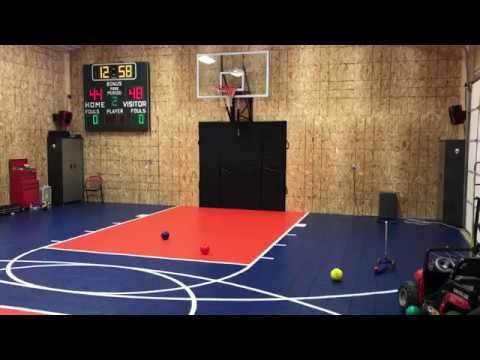 VersaCourt Home Basketball Gym