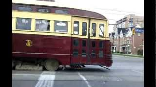 1961 Vintage PCC TTC Street Car In Action (HD)