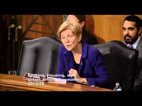 Elizabeth Warren - Securities and Exchange Commission Nomination Hearings