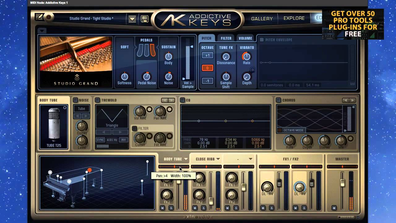 XLN Audio Addictive Keys Free Download