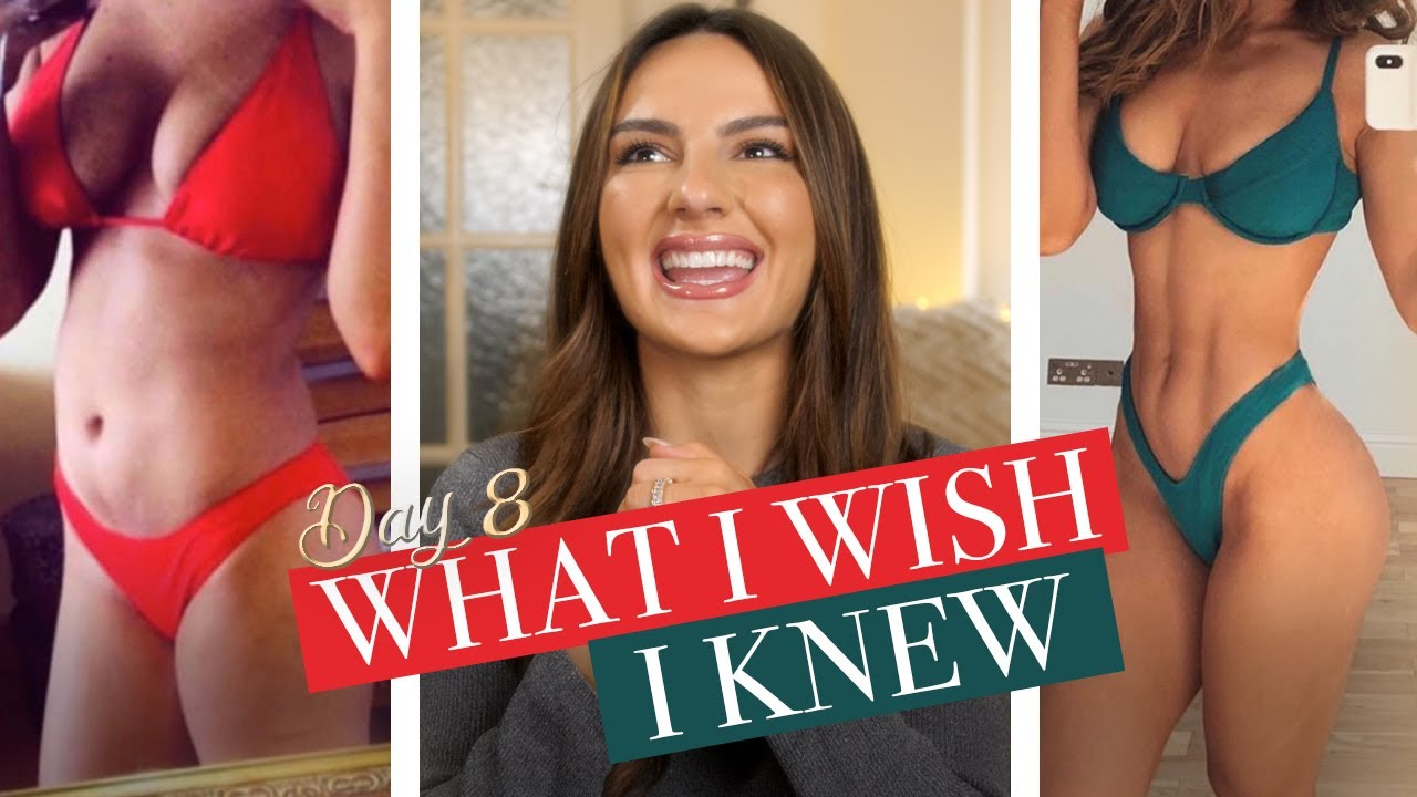 5 THINGS I WISH I KNEW BEFORE STARTING MY FITNESS JOURNEY | DAY 8