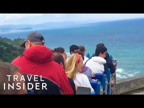 Ride A Roller Coaster In Spain Over The Atlantic Ocean