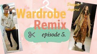 Wardrobe remix Ep. 5 designer outerwear