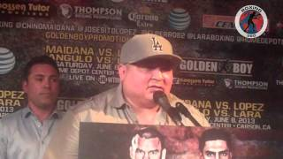 Boxing 360 - Maidana - Lopez - Angulo - Lara Los Angeles Press Conference Part 6