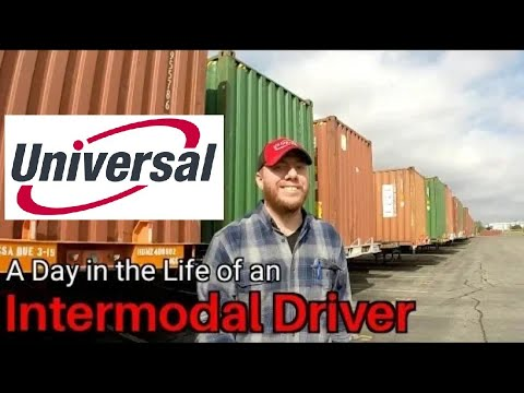 A Day In The Life Of An Intermodal Driver - Universal Intermodal