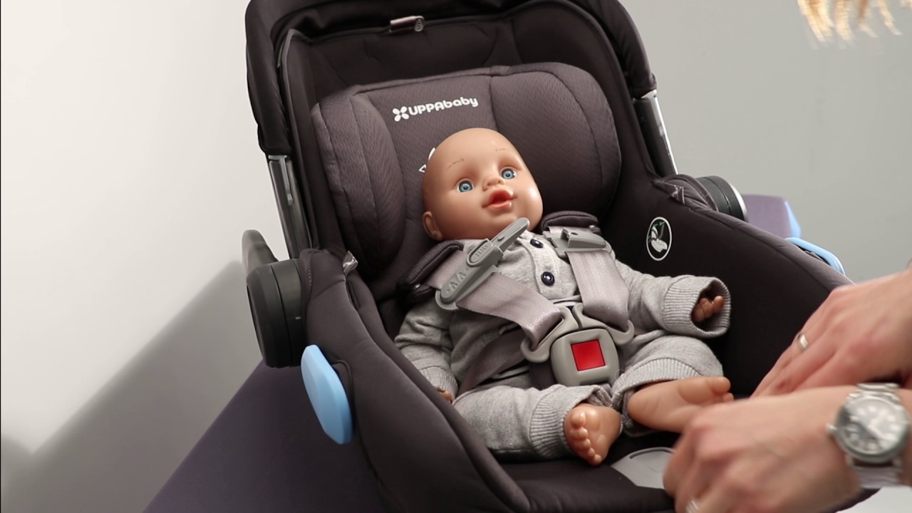 Newborn Car Seat Set Up Uppababy Mesa Instructional Video Fitting Infant In Seat
