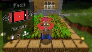 Minecraft - 360° Virtual Reality // 4K@60FPS