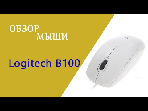 Мышь Logitech B100 USB Black (910-003357)