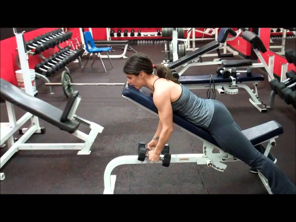 Exercise First Incline Bench Reverse Flies