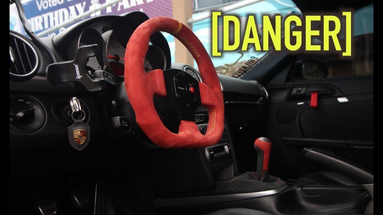 Fixing My Dangerous Porsche Steering Wheel Youtube
