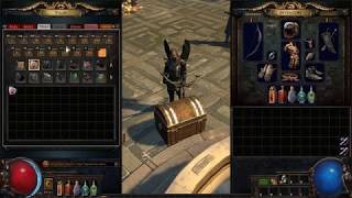 Path of Exile: Map Stash Tab