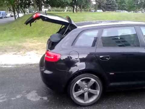 Automatyczne Otwieranie Klapy W Audi A3 Sportback Youtube