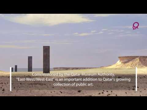 Monoliths in the Qatari Desert