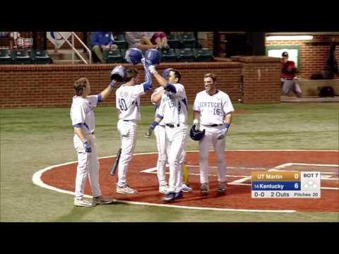 Evan White Kentucky Career Highlights