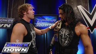 A backstage brawl breaks out between Fatal 4-Way Match components: Smackdown, May 14, 2015