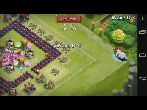Castle Clash - E09 - New Tunnel Setup With Here Be Monsters, Level D And Level E