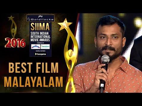 Siima 2016 Best Film Malayalam - Premam Movie