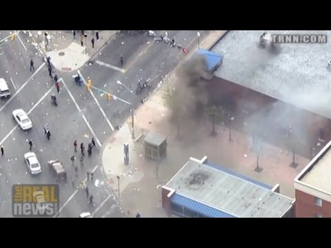 Mainstream TV's Attention to Property Destruction Overshadows Killing of Freddie Gray